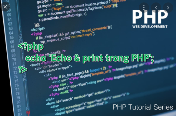 Lệnh Print trong php