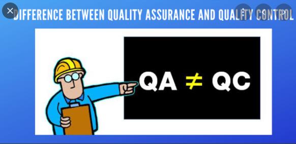 Sự khác biệt giữa QA và QC.